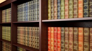 Law. 3D. Law Library Books